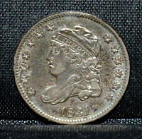 1831 CAPPED BUST HALF DIME  EXTRA FINE  EXTRA FINE DETAILS  H10C  NOW TRUSTED