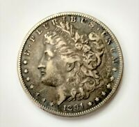 1891 S MORGAN SILVER DOLLAR $1  DETAILSAN FRANCISCO