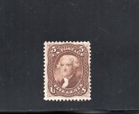1861 USA YV 21 5C JEFFERSON MINT HINGED SUPERB COLOR $1375.0