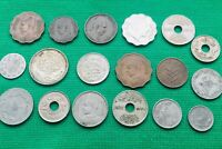18 X MIDDLE EAST COINS IRAQ EGYPT PALESTINE