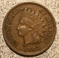 1903 INDIAN HEAD CENT  SOLID COIN