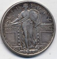 1924-D Standing Liberty Quarter AU58 PCGS Almost Uncirculated 58