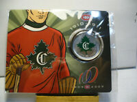 2009  CANADA 50 CENT COIN  MONTREAL CANADIANS  COMMEMORATIVE  1910 1911