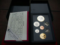 1993 CANADA PROOF SET DOUBLE DOLLAR SILVER AND LOON DOLLAR  LORD STANLEY CUP