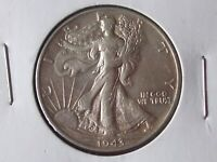 WALKING LIBERTY HALF DOLLAR 1943