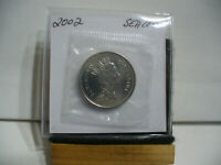 2002  CANADA HALF DOLLAR  NICKEL  50 CENT PIECE  PROOF LIKE SEALED  HIGH  GRADE