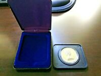 1976 CANADIAN PROOF LIKE COMMEMORATIVE SILVER DOLLAR IN ORIGINAL CASE