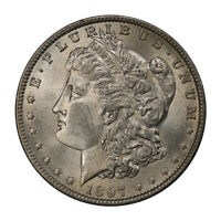 1897-O $1 MORGAN DOLLAR PCGS MINT STATE 64 3114-5 PQ CONDITION RARITY
