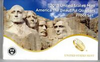 2013 S US MINT AMERICA THE BEAUTIFUL QUARTERS PROOF SET   OG