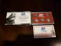 2004 S US MINT 50 STATE QUARTERS 5 COINS 90  SILVER PROOF SE