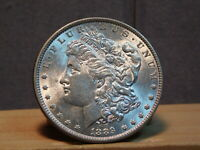 1889-P BAR WING VAM 19A MORGAN DOLLAR