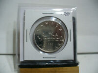 1980  CANADA  NICKEL  ONE  DOLLAR  1 $ COIN    NICE  GRADE   80    AUCTION