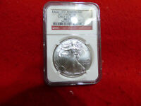 2011   SILVER  AMERICAN SILVER  EAGLE  COIN  .999    MS 70  NGC  25TH.  EARLY R.