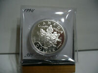 1994   CANADA  SILVER DOLLAR  COIN   1$    NICE  HIGH  GRADE   94    AUCTION