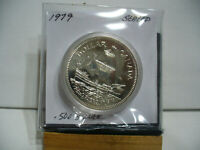 1979   CANADA  SILVER ONE  DOLLAR  COIN   1$    NICE  HIGH  GRADE   79  AUCTION