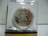 1978   CANADA  SILVER DOLLAR  COIN   1$    NICE  HIGH  GRADE   78    AUCTION