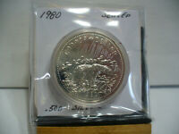 1980   CANADA  SILVER DOLLAR  COIN   1$    NICE  HIGH  GRADE   80    AUCTION