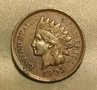 1903 INDIAN HEAD CENT  NICE SOLID COIN