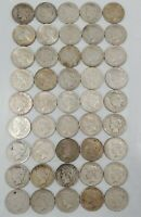 LOT OF 45: SILVER PEACE DOLLARS CIRCULATED MPCJA0094