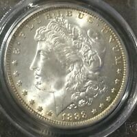 1888 O MORGAN SILVER DOLLAR PCGS MINT STATE 65 PERFECT BU-TIFUL   IN MINT STATE 65 GRADE