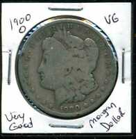 1900 O VG MORGAN DOLLAR 90 SILVER  GOOD U.S.A COMBINE SHIP $1 COIN WCC1017