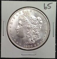 1900-O MORGAN SILVER DOLLAR - ABSOLUTELY BEAUTIFUL BRILLIANT UNCIRCULATED - WOW