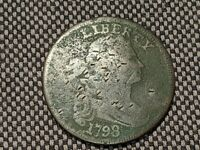 1798 UNITED STATES DRAPED BUST LARGE CENT