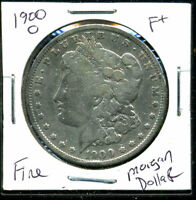 1900 O F MORGAN DOLLAR  FINE 90 SILVER COIN U.S COMBINE SHIPPING $1 WC1034