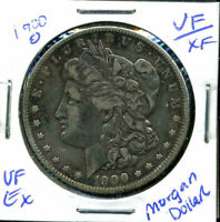 1900 O VF MORGAN DOLLAR  FINE 90 SILVER COIN U.S  COMBINE SHIP $1WC858