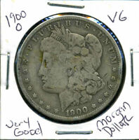 1900 O VG MORGAN DOLLAR 90 SILVER  GOOD U.S.A COMBINE SHIP $1 COIN CC723