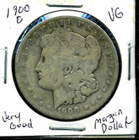1900 O VG MORGAN DOLLAR 90 SILVER  GOOD U.S.A COMBINE SHIP$1 COIN CC463