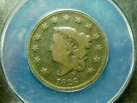 1826 CORONET HEAD LARGE CENT -  ANACS G4