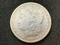 1890-O  MORGAN DOLLAR   F        3 OR MORE  FREE S/H       90 SILVER    A1970