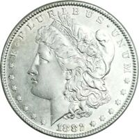 1882-P 90 SILVER MORGAN DOLLAR $1