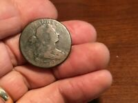 1798 ? DRAPED BUST LARGE CENT DATED 1799  STARTS AT 1C