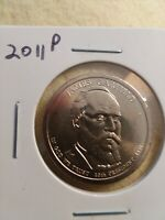 2011 P - JAMES GARFIELD $1 DOLLAR PRESIDENTIAL COIN
