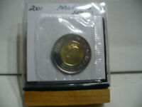 2001    CANADA 2$ TWO  DOLLAR  COIN  TOONIE  01  PROOF LIKE  SEALED   AUCTION