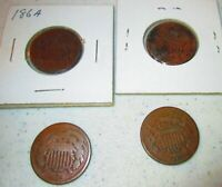 LOT OF 1864 TWO CENT PIECES 4