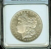 1885 MORGAN SILVER DOLLAR APPEARS A FANTASTIC GEM DMPL