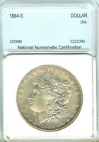 1884 S MORGAN SILVER DOLLAR APPEARS A WONDERFUL ALMOST UNCIRCULATED ..