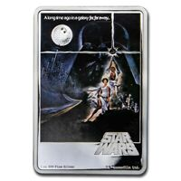 2020   1 OZ SILVER PROOF COIN   STAR WARS   A NEW HOPE