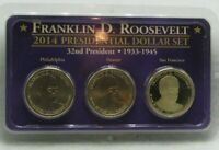 2014 PRESIDENTIAL DOLLAR SET - FRANKLIN D. ROOSEVELT - LITTLETON COIN COMPANY