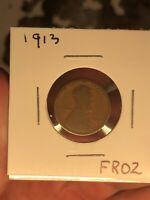 GREAT BOOK FILLER: 1913-P LINCOLN WHEAT CENT-SEMI KEY BETTER DATE
