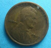 1917-S LINCOLN WHEAT CENT GOOD  CLEAR DATE AND MM SUMMER SPECIAL   SHIPS FREE