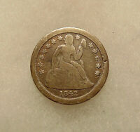 1842-O SEATED LIBERTY DIME -  LOOKING COIN - SHIPS FREE