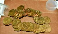 JAMAICA 1962 HALF PENNY PARTIAL ROLL 35 COINS CHOICE UNC.   INVENTORY REDUCTION