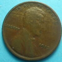 1913-P  LINCOLN HEAD CENT   F     SHIPS FREE    '