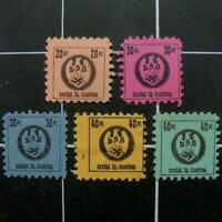 GERMANY DSB HOMEOWNERS ASSOCIATION REVENUE STAMPS  NG/  SWASTIKA/EAGLE/HOUSE