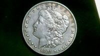 BEAUTIFUL 1904-P MORGAN SILVER DOLLAR EXACT ONE SHOWN IN PICS 1160