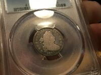 1801 DRAPED BUST DIME PCGS G4